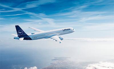 Lufthansa vliegtuig Djoser