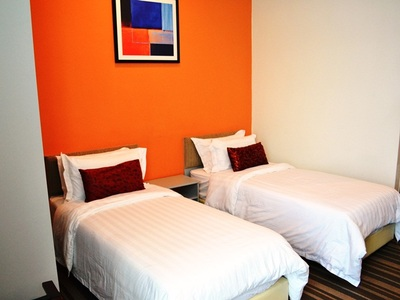 maleisie borneo kuching hotel abell room Djoser