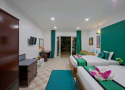 Marvel Holiday Boutique hotel kamer Siem Reap Campbodja