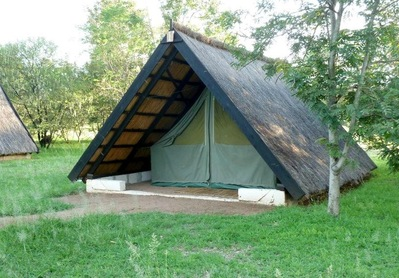 Lake Victoria Speke Bay Lodge tent Tanzania Djoser