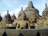 Borobudur beeld Indonesië