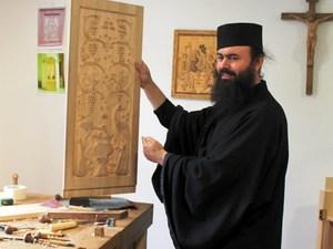 Noul Neamt monnik Moldavie