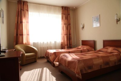 Gostevoy Fond hotel kamer St. Petersburg Rusland