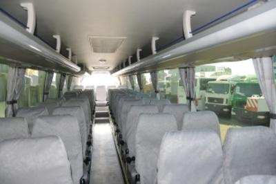 Bus Rusland Rusland binnenkant Djoser