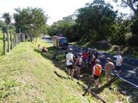 Groep Weg Pauze Costa Rica Fietsen Djoser