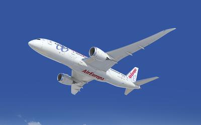 Air Eurpa vliegtuig