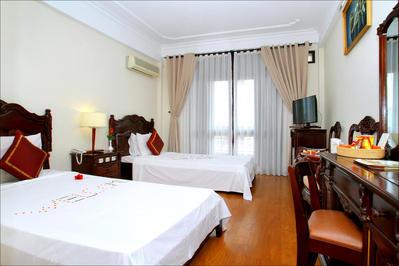 Lantern Hotel room Hoi An rondreis Djoser
