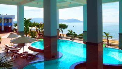 Hai Au Hotel Qui Nhon Pool rondreis Djoser