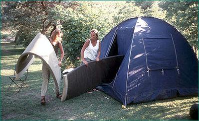 Zuid-afrika tenten kamperen Djoser