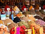 Marokko Marrakech Djem El Fna Plein