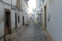 Straatbeeld Fietsreis Portugal