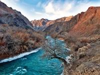Charyn rivier Kazachstan Djoser