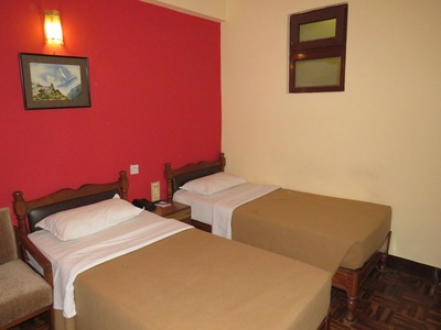 Nepal Kathmandu Kamer Hotel Djoser accommodatie