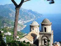 Wandelreis Italie Amalfikust Ravello uizicht Kerk Djoser