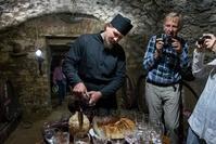 Noul Neamt klooster wijnkelder monnik moldavie