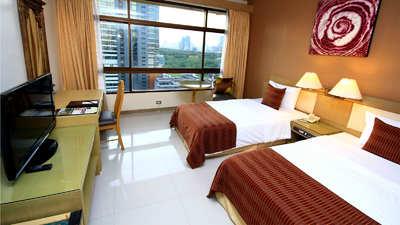 Pinnacle Lumpinee hotel kamer Bangkok Thailand