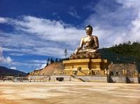 Gouden Boeddha Thimphu Bhutan Djoser