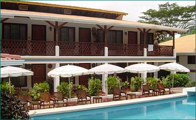 Costa rica hotel accommoadtie overnachting zwembad Djoser