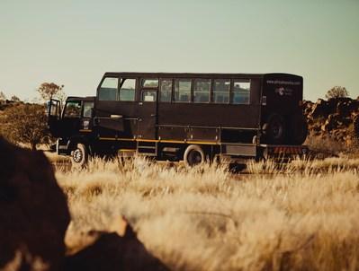 Zuid-Afrika truck zijkant