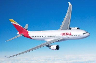 Iberia vliegtuig
