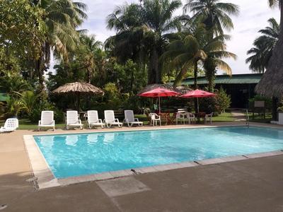 Hotel Catamaran zwembad Rio Dulce Guatemala