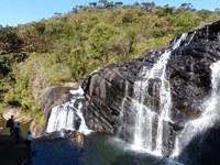 Sri Lanka Horton Plains Baker Falls