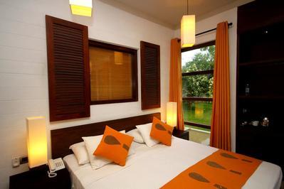 Hotel Chandrika kamer Tissamaharama Sri Lanka