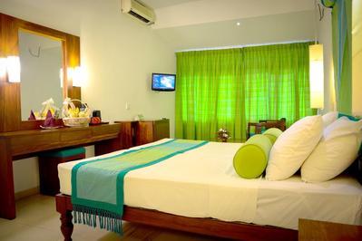 Hotel Hilltop kamer Kany Sri Lanka