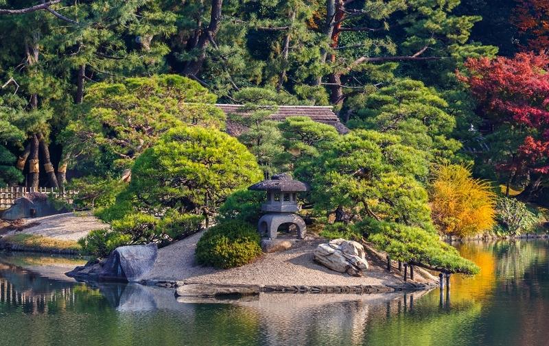 Okayama, Korakuen-tuin