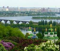 Kiev uitzicht Oekraine