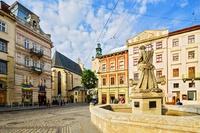 Lviv plein Oekraine