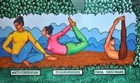 Yoga houdingen Zui-India