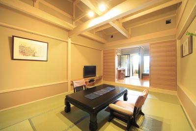 Kamer Japans Hoshokaku ryokan Takayama Japan