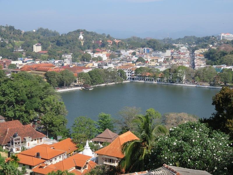 Uitzichtpunt op Kandy