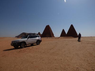 Jeep Soedan vervoer