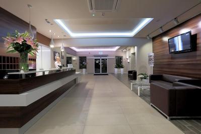 Silver Hotel receptie Bialystok Polen
