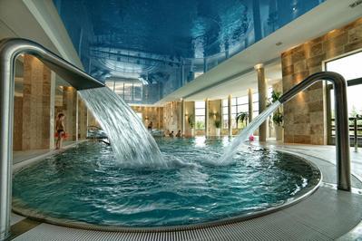 Hotel Bialowieski zwembad Polen