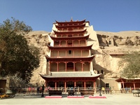 Dunhuang Mogao grotte China
