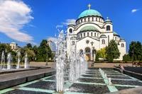 Sava kathedraal Belgrado Servie