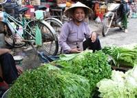 Dame markt Vietnam