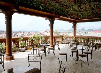 Thuy Anh hotel uitzicht Ninhbinh Vietnam