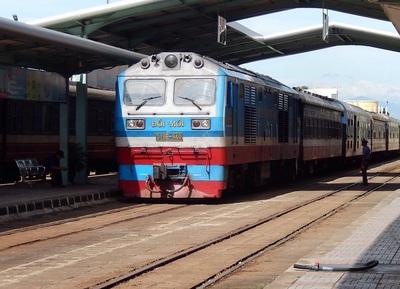 Trein Hanoi Hue Vietnam