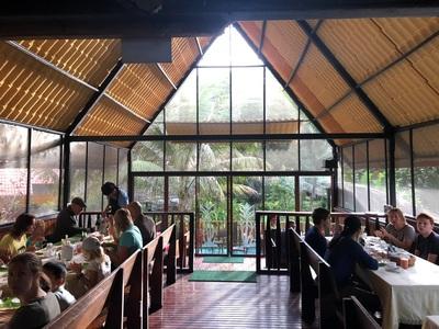 Restaurant Yacuma Ecolodge Ecuador