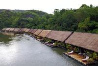 Thailand River Kwai Bovenaanzicht