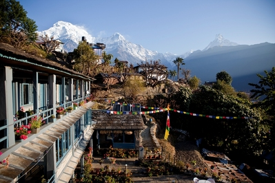 Nepal guesthouse