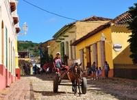 Cuba Trinidad straat