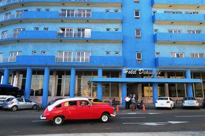 Cuba stadshotel Havana Djoser, hotel Deauville