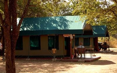 Tent Manyane Resort Pilanesberg National Park Zuid-Afrika