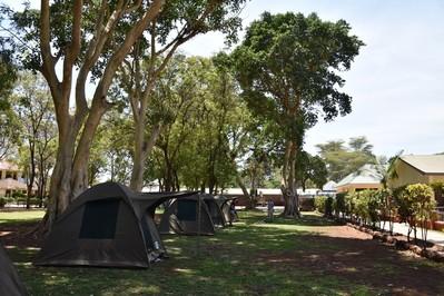 tanzania campsite kamperen