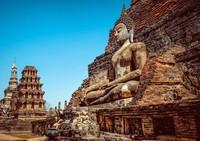 Sukothai boeddha Thailand